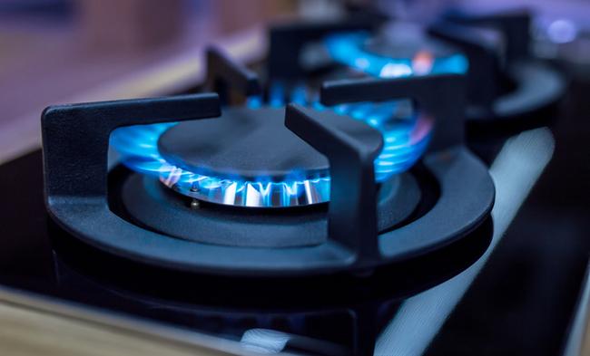 Aragaz LDK 5060 A SHINY GREY RMW LPG, 4 zone de gatit, gaz, aprindere electrica, Negru