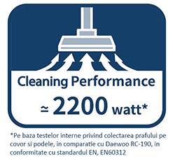 Aspirator cu sac Daewoo RC-L384GB/2A