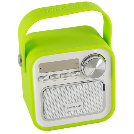 Boxa bluetooth SERIOUX Joy Green