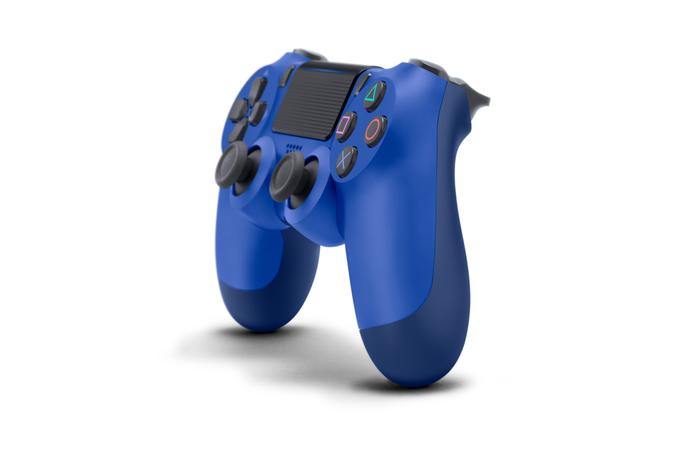 Controller SONY Dualshock 4 V2 pentru Playstation 4, Wave Blue