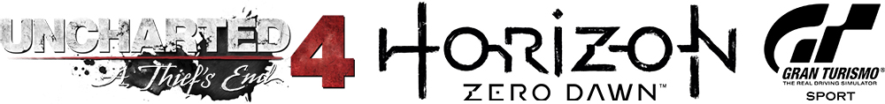 Consola SONY PlayStation 4 Slim 1 TB + 3 jocuri: Horizon Zero Dawn, Uncharted 4, Gran Turismo Sport