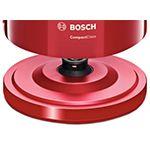 Fierbator apa BOSCH TWK3A014, capacitate 1.7l, 2400W, rosu