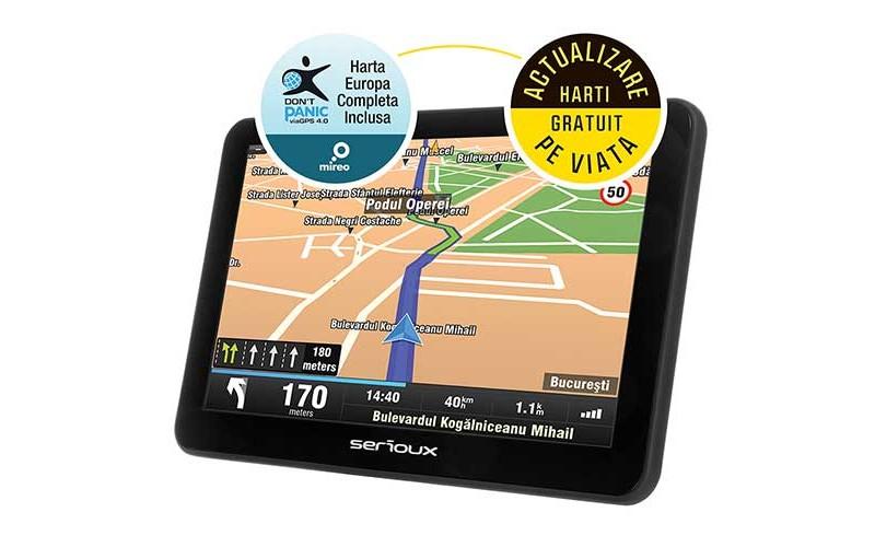 Sistem de navigatie serioux urban pilot