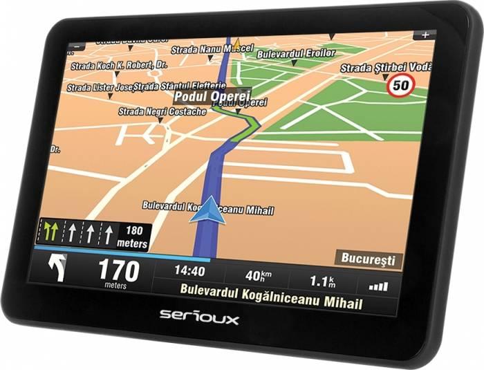 Sistem de navigatie GPS Serioux Urban Pilot