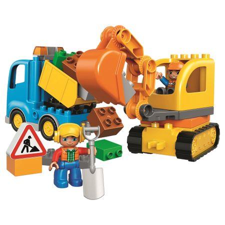 Lego Duplo Camion si escavator senile 10812