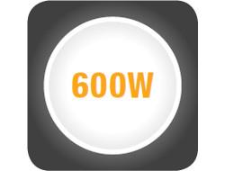 Storcator de fructe si legume HEINNER GreenVitamine HSF-600BK, capacitate 0.5l, 600W, negru