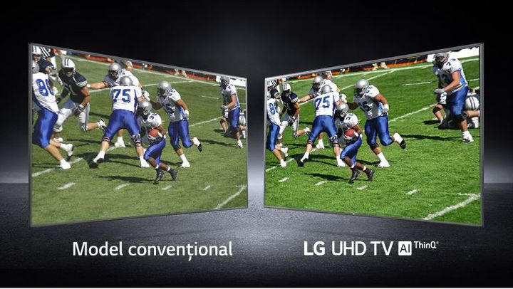 "Televizor LED LG 109 cm (43"") 43UN711C, Ultra HD 4K, Smart TV, WiFi, CI+"