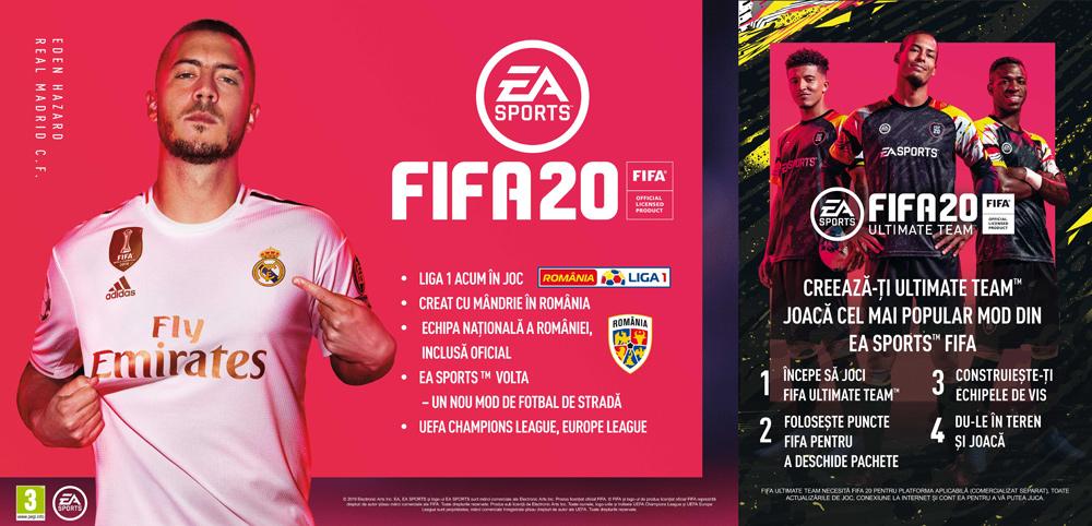 Joc FIFA 20 pentru Playstation 4