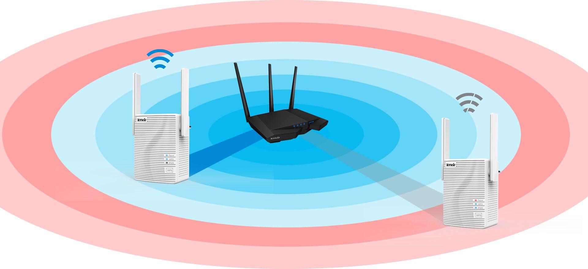 Range extender wireless TENDA A18