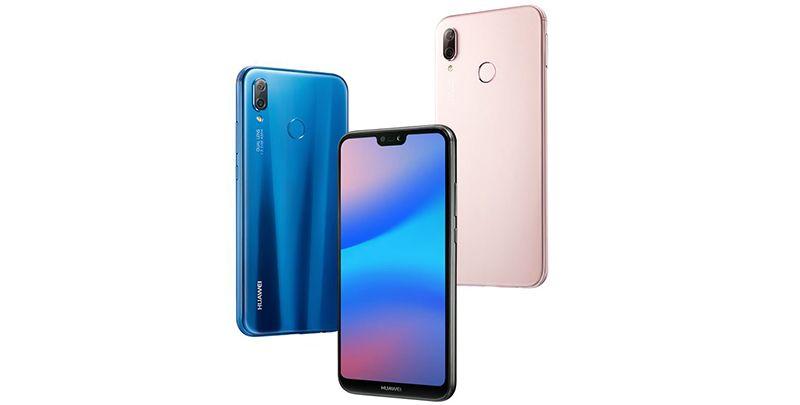 Telefon HUAWEI P20 Lite, albastru
