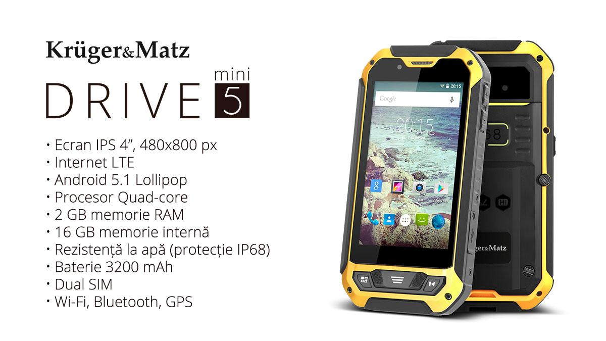 Telefon KRUGER & MATZ Drive 5 Mini