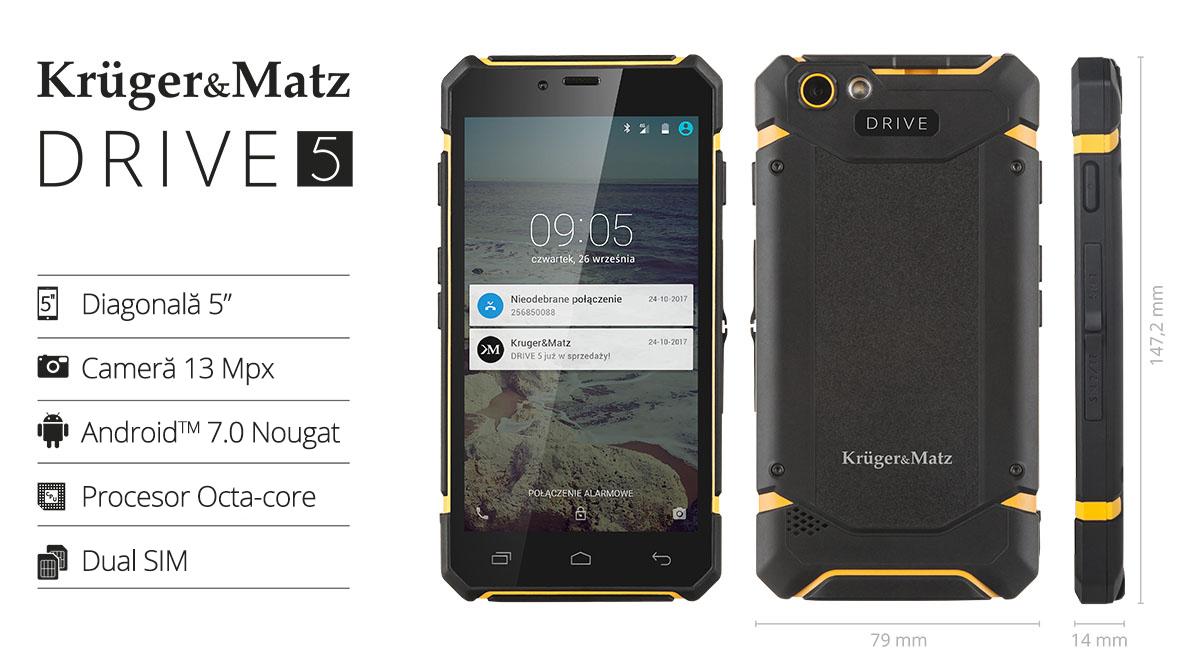 Telefon KRUGER&MATZ Drive 5