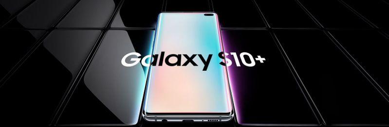 TELEFON SAMSUNG GALAXY S10 PLUS 128GB CERAMIC BLACK