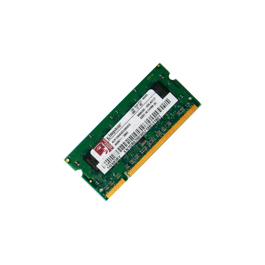 SODIMM 1gb Kingston 800 Mhz