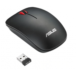 Mouse Wireless ASUS WT300, USB, Matte Black-Red