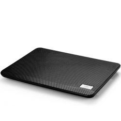 "Stand notebook DeepCool 14"" - 1* fan 140mm, 1* USB, plastic & metal, black ''N17BLACK'' - DEEPCOOL"