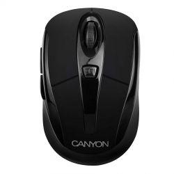 Mouse wireless CANYON CNR-MSOW06B, negru, optic, USB