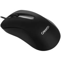 Mouse cu fir CANYON CNE-CMS2, negru, optic, USB