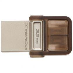 Memorie USB KINGSTON 32GB, DT microDuo USB 3.0/ micro USB OTG