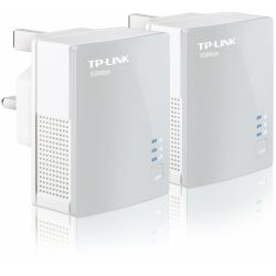 "Kit Adaptor Powerline 500Mbps, ultra compact, port 100M, TP-LINK ""TL-PA4010KIT"""