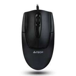 Mouse cu fir A4TECH V-track Padless OP-540NU-1, negru, optic, USB