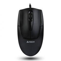 Mouse cu fir A4TECH V-track Padless OP-540NU-1, negru, optic, USB