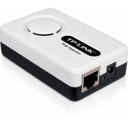 """PoE (Power Over Ethernet)  Injector, IEEE 802.3af compatibil, carcasa plastic, plug & play """"TL-PoE150S"""""""