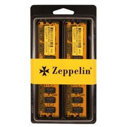 "DIMM   DDR2/800 2048M   (kit 2x1024M) dual channel kit  ZEPPELIN (retail) ""ZE-DDR2-2G800-KIT"""