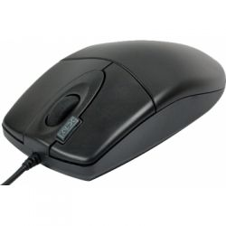 Mouse cu fir A4TECH OP-620D-U1, negru, optic, USB
