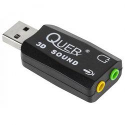 Placa de sunet 5.1 QUER KOM0638 USB