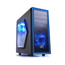 Carcasa DEEPCOOL Tesseract SW ATX Mid-Tower 2x120mm LED fan (incluse) Neagra