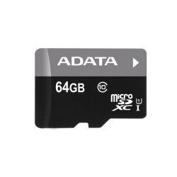 MEMORIE MICRO SDXC CARD 64GB ADATA PREMIER CL10 + ADAPTOR