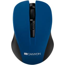 Mouse wireless CANYON CNE-CMSW1, albastru, optic USB