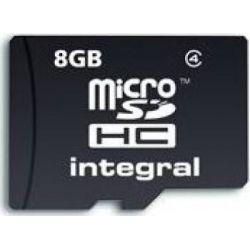 Card de memorie INTEGRAL Micro SDHC 8GB CL4