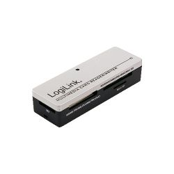 Cititor carduri memorie LOGILINK - USB 2.0, stick, extern, All-in-1