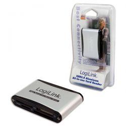 Cititor de carduri LOGILINK USB 2.0, extern, 56-in-1 cu SD HC