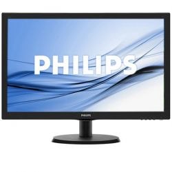 Monitor LED Philips 223V5LHSB/00 21.5 inch 5ms Negru