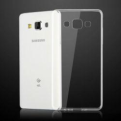 Husa Silicon Tpu pentru Samsung Galaxy A7 Duos Slim Transparenta