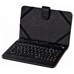 """Husa Cu Tastatura HAMA Universala 7"""" U6050467 Neagra"""