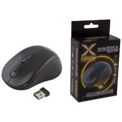 Mouse wireless EXTREME Maverick XM104K, negru, optic, USB
