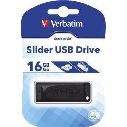 Memorie externa Verbatim Store 'n' Go Slider 16GB USB 2.0