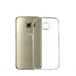 Husa Silicon Tpu pentru Samsung Galaxy S6 Edge Transparenta