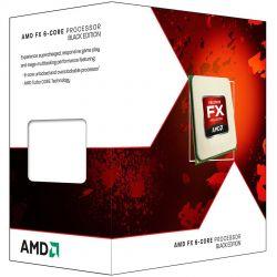 AMD CPU Desktop FX-Series X6 6350 (3.9GHz,14MB,125W,AM3+ with quiet Wraith Cooler) box