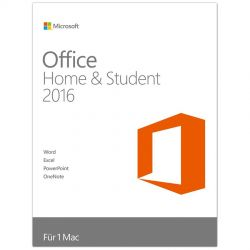 Microsoft Office Home and Student 2016, FPP, Engleză
