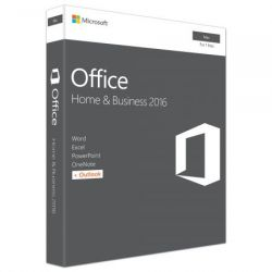 Microsoft Office Home and Business 2016, Engleza, pentru Apple Mac