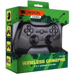 Gamepad Wireless Canyon CNS-GPW6, Argintiu
