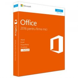 Microsoft Office Home and Business 2016, Română, FPP