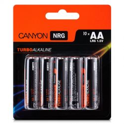 Baterii Alkaline CANYON tip AA blister/10buc