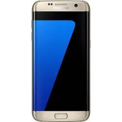 "Telefon SAMSUNG Galaxy S7 Edge 5.5"" 1440x2560 pixels (QFHD), 2G, 3G, 4G, Octa core 4 GB RAM, stocare 32 GB, Auriu, cameră fată 5 MP, cameră spate 12 MP, Android 6.0 (Marshmallow)"
