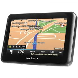 "GPS SERIOUX Urban Pilot 4.3"" harta Full Europe si update gratuit al hartilor pe viata"